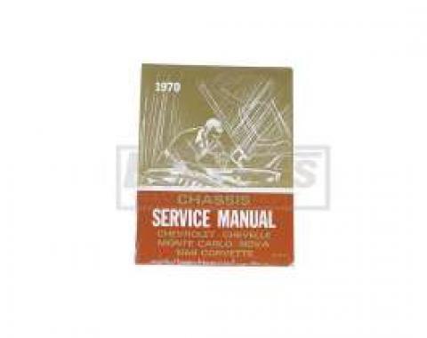 El Camino Service Shop Manual, 1970