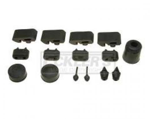 El Camino Rubber Bumper Kits 19 Pieces, 1973-1977