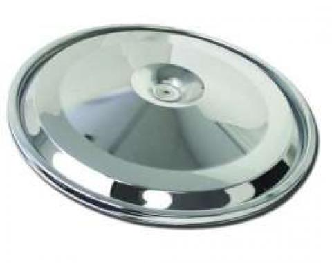 El Camino Air Cleaner Lid, 396/325hp, Chrome, 1966-1967