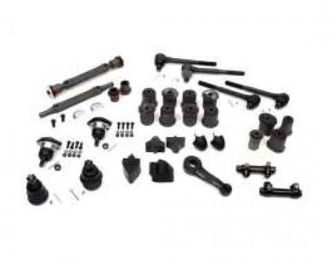 El Camino Suspension Kit, Front & Rear, With Oval Lower Front A-Arm Bushing, 1970