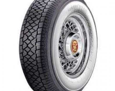 El Camino Radial Tire, 205/75-R14 With 2-3/4 Wide Whitewall, Goodyear, 1959-1960