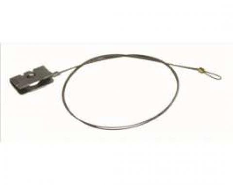 El Camino Shift Indicator Cable, Round Speedometer, Automatic Transmission, 1978-1987