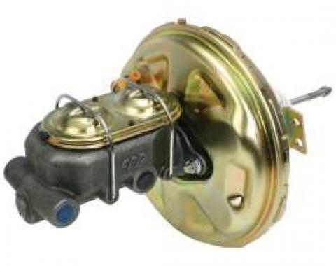El Camino Master Cylinder, With Booster, For Disc Brake Conversion, 1967-1972