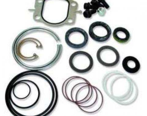 El Camino 605 Steering Box Rebuild Kit, All With Bolt On Cover, 1959-1987