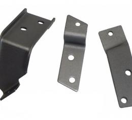 Heater Box Control Cable Retainer Bracket Set, without Air Conditioning