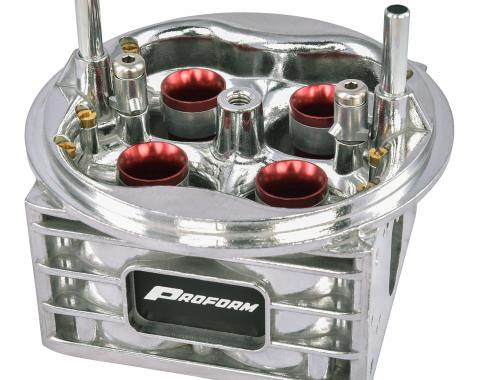 Proform Carburetor Main Body, For Use With Holley 1050 CFM 4150 Carb with Ann. Boosters 67218