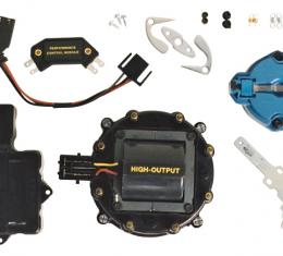 Proform Engine Distributor Tune-Up Kit, Fits GM HEI V8 Dist w/Internal Coil, Black Cap 66945BKC