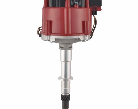 Proform HEI Distributor, Street/Strip, Built-In Coil, Red Cap, Fits AMC Inline 6 Engines 67186