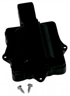 Proform Engine Distributor Coil Dust Cover, Fits GM V8 HEI Models, Black 66957C