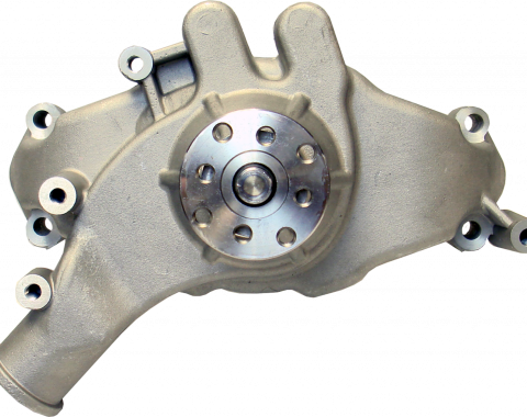Proform Engine Water Pump, Mechanical Long Style, High Flow Model, Satin, BB Chevy 68241
