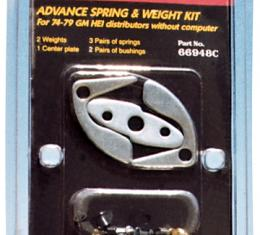 Proform Engine Distributor Advance Curve Kit, Fits GM HEI Distributor, 3 Sets of Springs 66948C