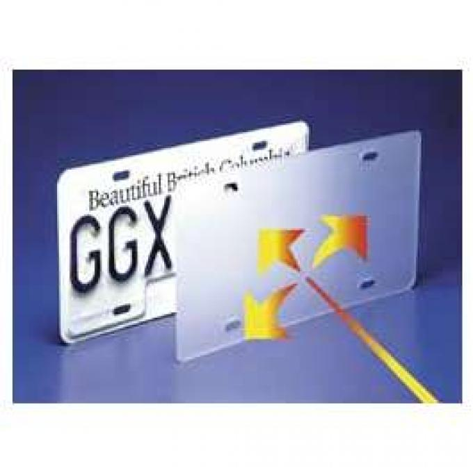 Laser Shield License Plate Cover