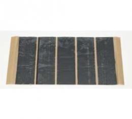 "Camaro Sound Deadener Kit, Wiring Harness Tape, 5-Piece, 2"" x 6"", Hushmat Ultra, 1967-1969"