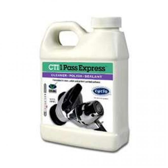 Cyclo, CT1 Express Cleaner-Polish-Sealant 16oz