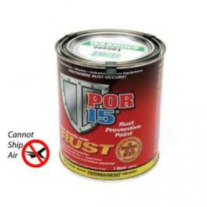 Rust Preventive Paint, Black, Semi-Gloss, POR-15?