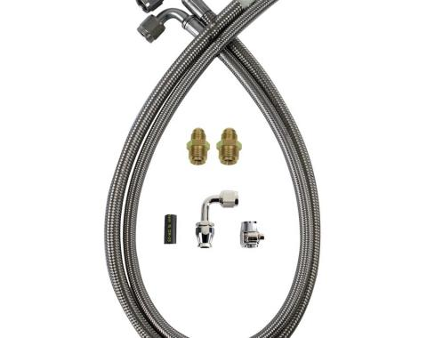 Detroit Speed PS Hose Kit Early GM 091101