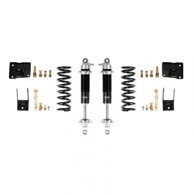 Detroit Speed Coilover Conversion Kit- Rear Moser Rear 1967 A-Body Wagon Double Adjustable Shocks Remote Canister 042418-R