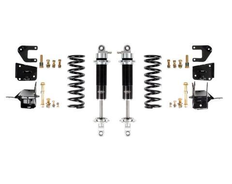 Detroit Speed 64-66 A-Body Rear Coilover Kit Base Shocks Stock Rear Axle 042404