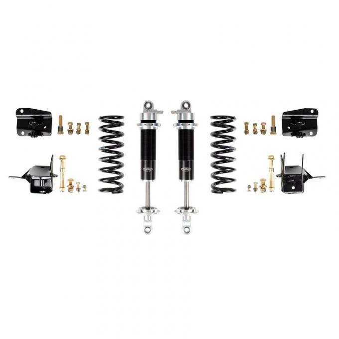 Detroit Speed Coilover Conversion Kit- Rear 1968-1972 A-Body Wagon Double Adjustable Shocks Stock Rear Axle 042416-D