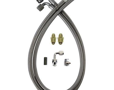 Detroit Speed PS Hose Kit Late GM 091201