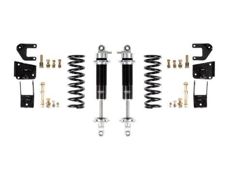 Detroit Speed 67 A-Body Rear Coilover Kit Base Shocks Moser Rear Axle 042411