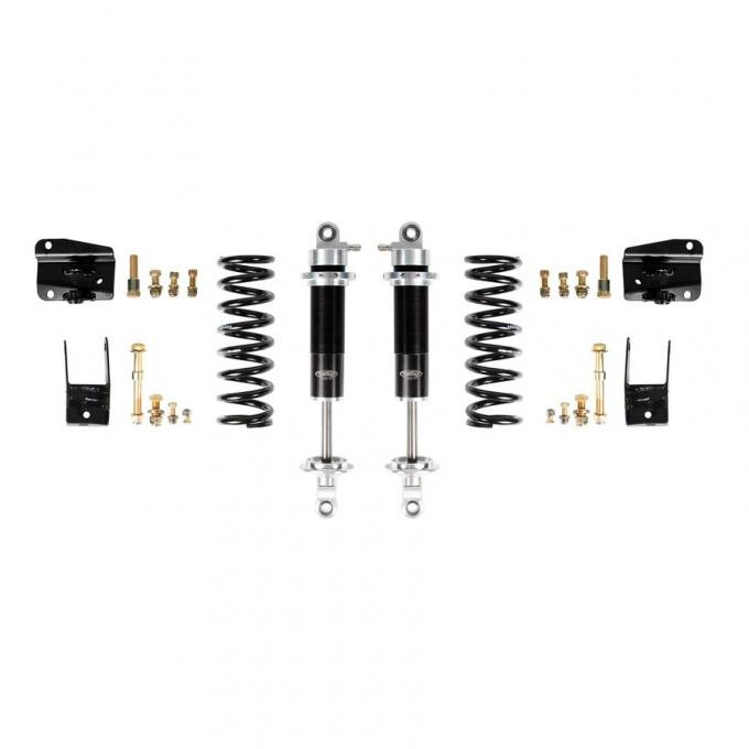Detroit Speed 68-72 A-Body Rear Coilover Kit Double Adjustable Shocks Moser Rear Axle 042412-D