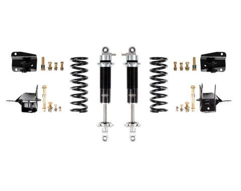 Detroit Speed 68-72 A-Body Rear Coilover Kit Base Shocks Stock Rear Axle 042405