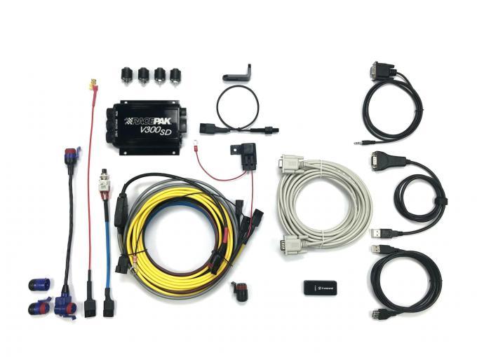 Racepak V300SD Motorcycle Kit With Datalink Lite 200-KT-V300SDMG