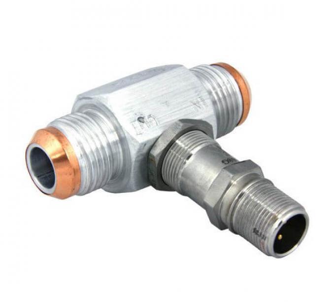 Racepak Aluminum Flow Meter 800-FM-AN8-AL
