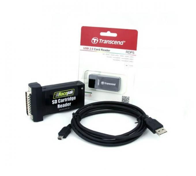 Racepak Memory Cartridge Kit 890-KT-CARTSD