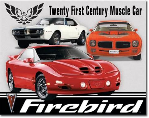 Tin Sign, Pontiac Firebird Tribute