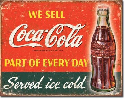 Tin Sign, COKE - Part of Every Day