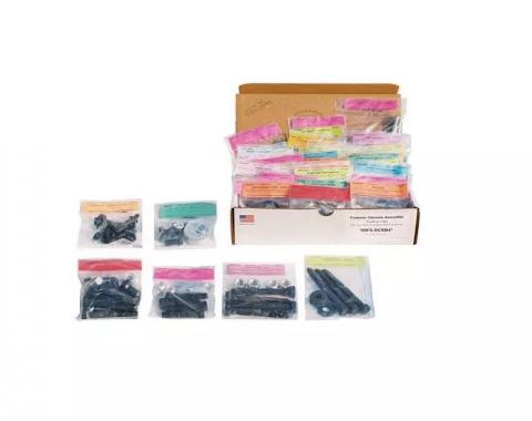 Chevelle Master Body Assembly Hardware Kit, 444 pieces. 1966