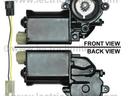 Chevelle Power Window Motor, For 2-Door, Left, 1964-1977