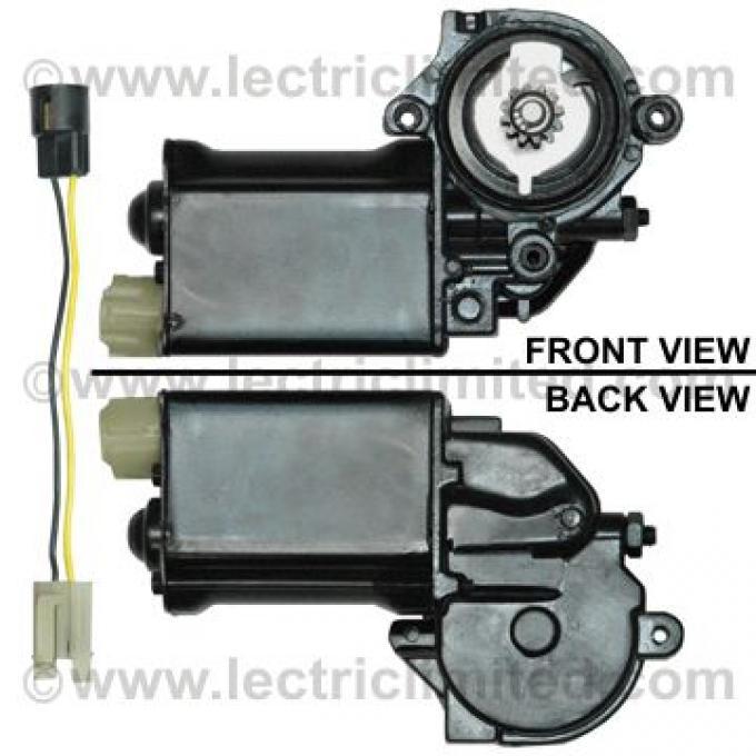 Chevelle Power Window Motor, For 2-Door, Left, 1964-1977