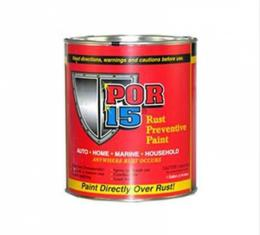 Rust Preventive Paint, Gloss Black, POR-15, Pint