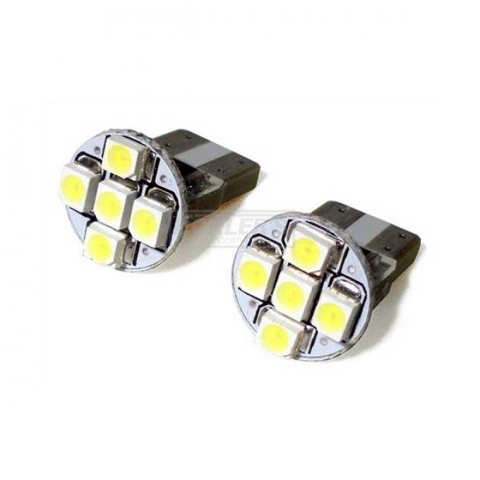 El Camino Ultra Bright LED Marker And Dash Bulb, White,1967-1981