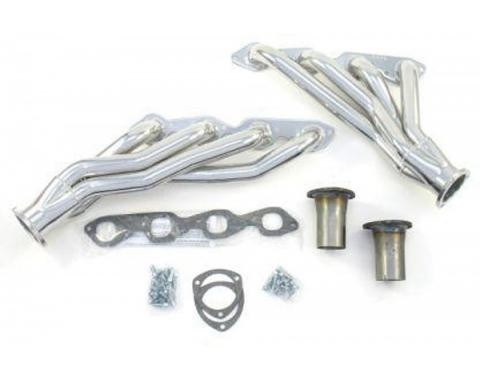 Chevelle Exhaust Headers, Big Block, Shorty Style, For CarsWith Automatic Or Manual Transmission & Without Air Conditioning, 1964-1967