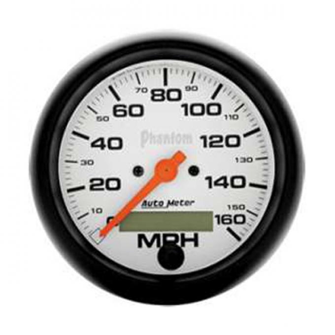 El Camino Speedometer, Electric, 160 MPH, Phantom Series, AutoMeter, 1959-1987