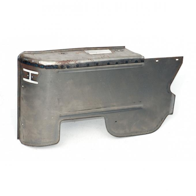Chevelle Armrest Panel, Lower, Right, Rear, Convertible, 1968-1970