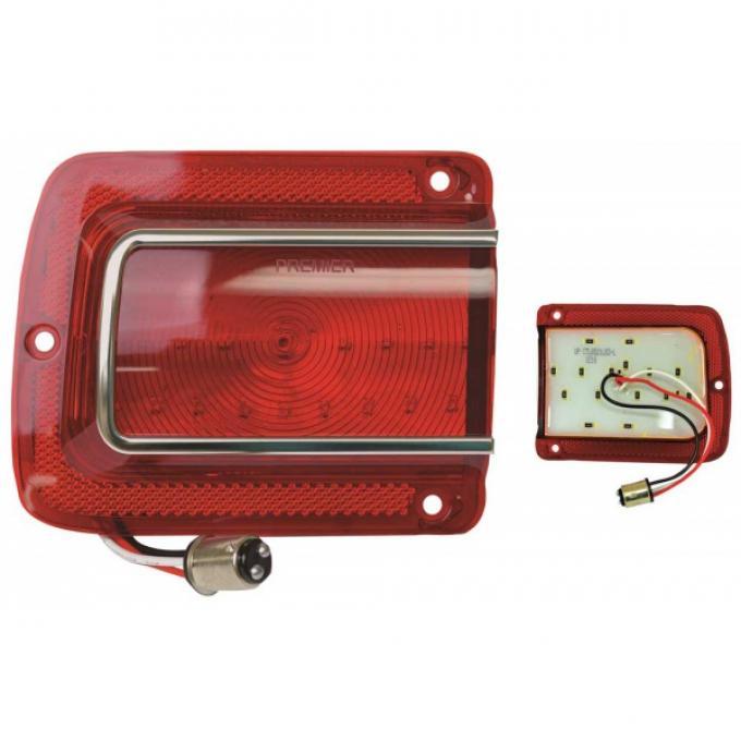 Chevelle - LED Taillight, Left, 1965