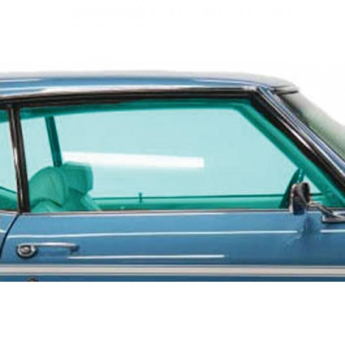 Chevelle Door Glass, 2-Door Coupe & Convertible, Right Hand, 1969
