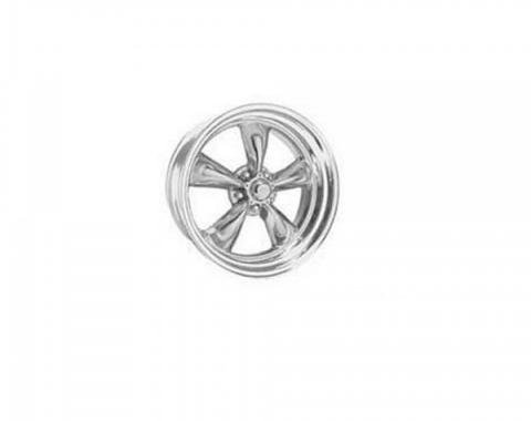 Chevy American Racing Torq Thrust II Wheel, Polished Aluminum, 15X6