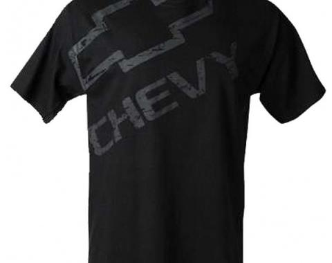 Chevy T-Shirt, Distressed Chevy With Bowtie