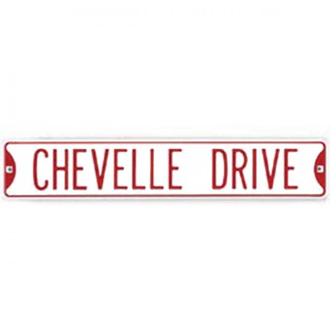 Chevelle Street Sign, Chevelle Drive