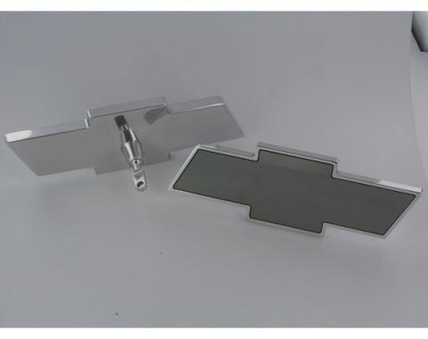 Chevelle Interior Mirror, Bowtie Shaped, Billet, 1973-1983