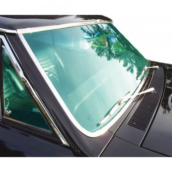 Chevelle Windshield, 2-Door Coupe & Convertible, 1966-1967