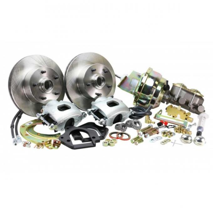 El Camino -  Front Disc Brake Conversion Kit For Stock Spindles, Power, 1964-1972