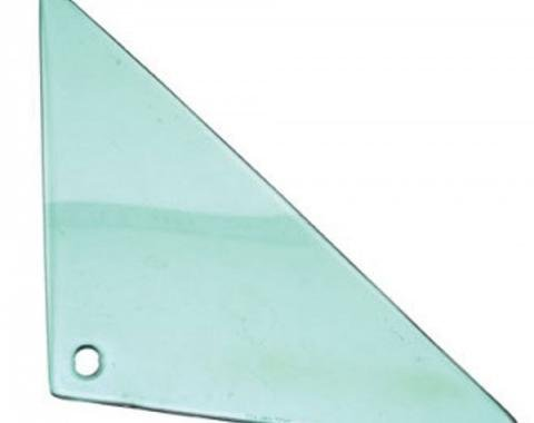 Chevelle Vent Glass, 2-Door Coupe & Convertible, Right Hand, 1966-1967