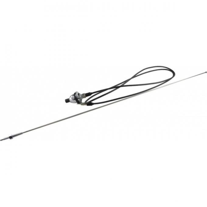 Chevelle - Antenna, Fixed Mast, Fender Mount 1966-1967